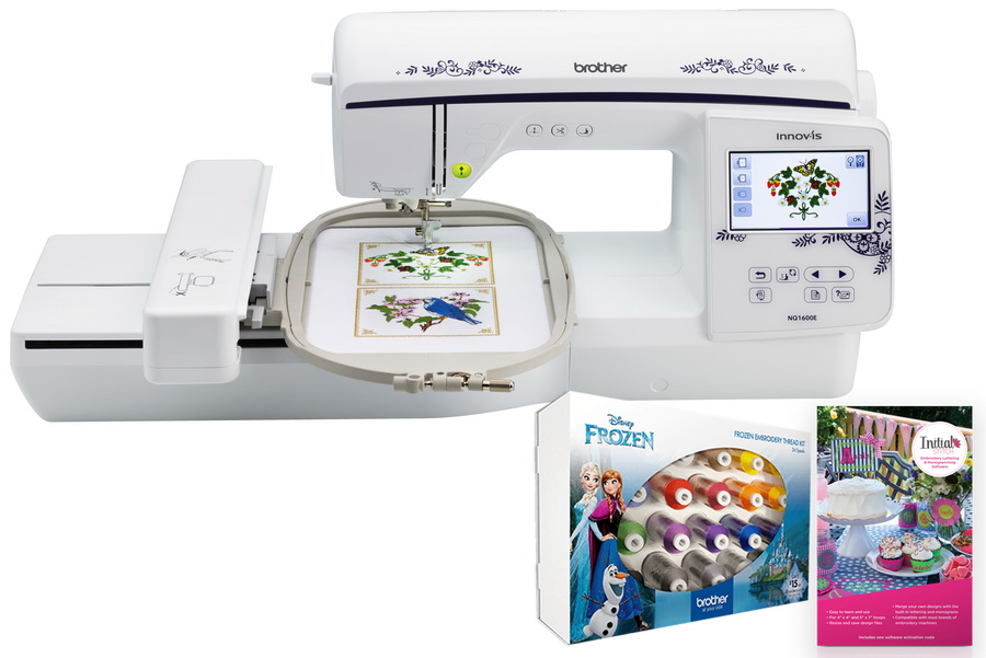 Greatest Embroidery And Sewing Machine Combo - Reviews For 2020