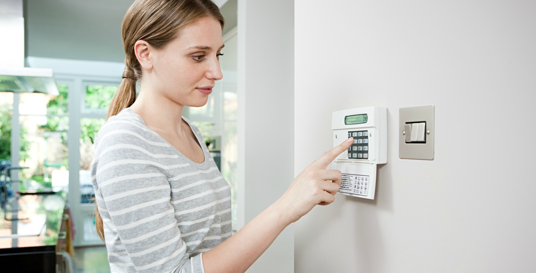 Home Alarm System Could Be Company-Provided